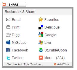 Memasang Tombol Sharing Untuk Blogger