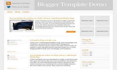 NewzMag Blogger Template