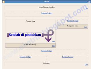 Memasang Page Navigasi Dengan Mudah