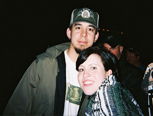 mike y una de sus fans