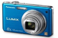 Buy Cheap Lumix - Panasonic Lumix DMC-FH20 14.1 MP Digital Camera with 8x Optical Image Stabilized Zoom and 2.7-Inch LCD (Blue)