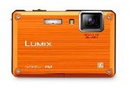 Buy Cheap Lumix - Panasonic Lumix DMC-TS1 12MP Digital Camera with 4.6x Wide Angle MEGA Optical Image Stabilized Zoom and 2.7 inch LCD (Orange)