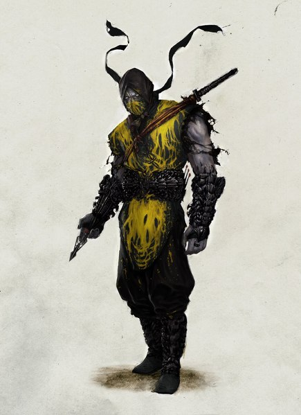 mortal kombat 9 sub zero costumes. dresses sub zero and scorpion