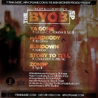 DJ Concept & DJ Mickey Knox - The BYOB EP