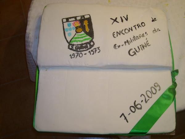 Bolo do almoço do ex-militares da Guiné