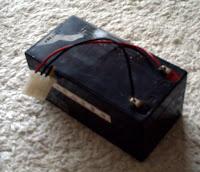 robot için küçük kru akü 12 volt