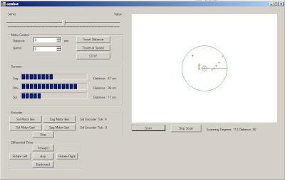 Microsoft Robotics Studio C# ve IR Sensör ile Engel Tanıma