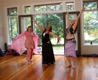 womens island retreat art dance creativity yoga