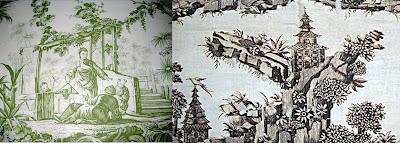 toile de jouey in chinoiserie pattern