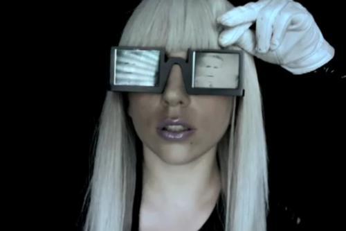 Lady GaGa > London UK > Lady GaGa Sunglasses