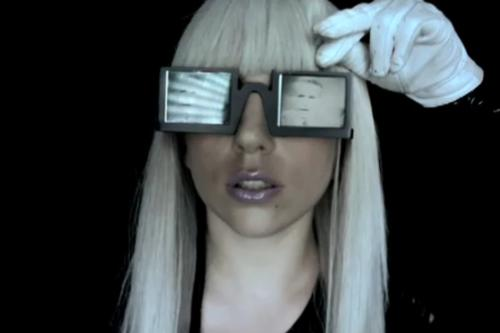 Lady Gaga Glasses,Lady Gaga Phenomenon,Lady GaGa,Celebrity Styles
