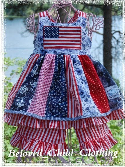 4th of July Pageant Dress
