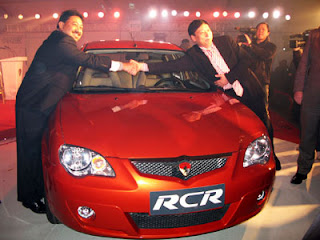 MALAYSIA'S PROTON DEBUTS IN CHINA WITH EUROPESTAR RCR