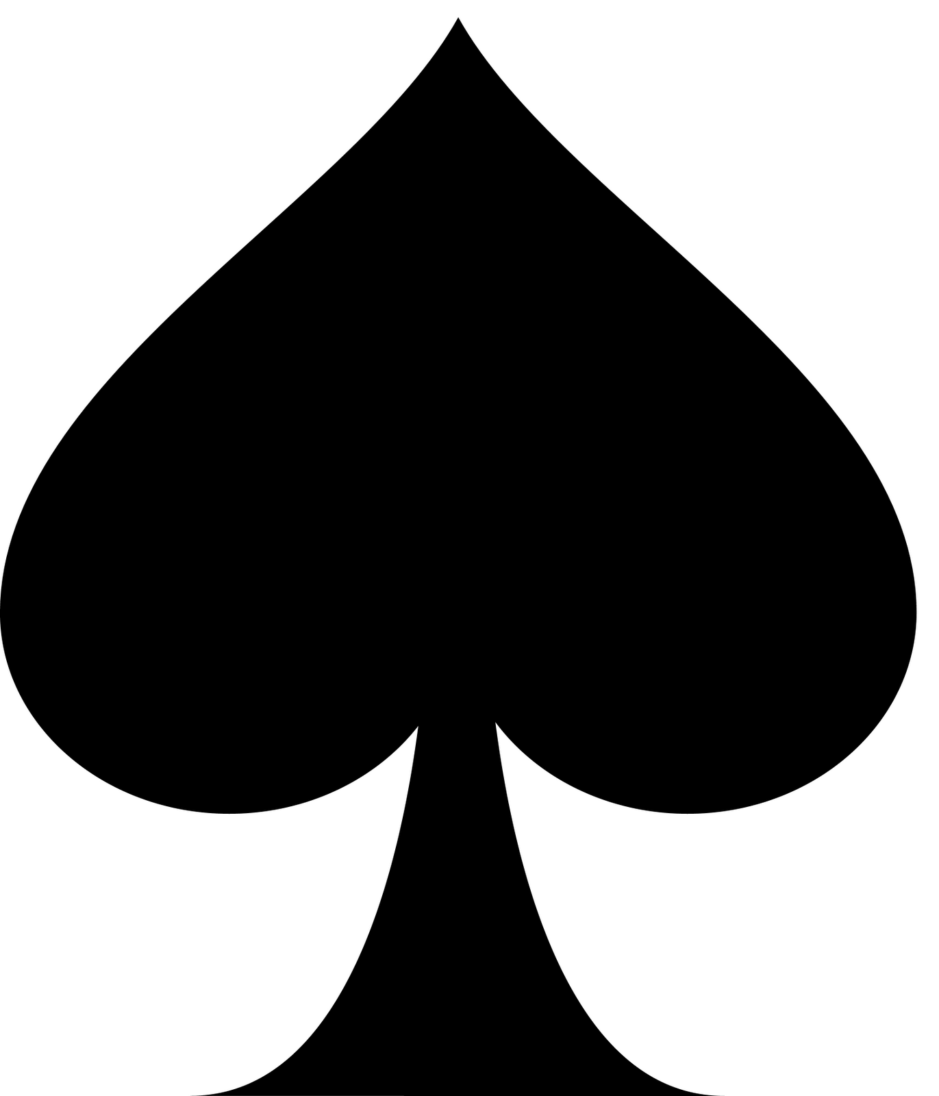 Buy Playing Card Spade Clip Art