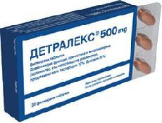 ДЕТРАЛЕКС-DETRALEX таблетки за лечение на хемороиди