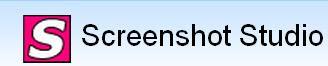 Скрийншот софтуер - ScreenShot Studio лого