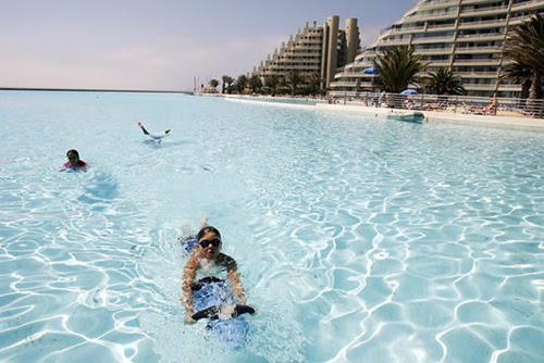 Nadnod largest swimming pool in the world 1km long - Longest swimming pool in the world ...
