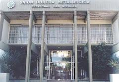 La Unión Obrera Metalúrgica