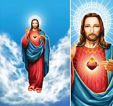 SAGRADO CORAÇÃO DE JESUS(EM GESSO)
