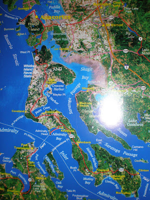 whidbey island map. a Photo of Whidbey Island,