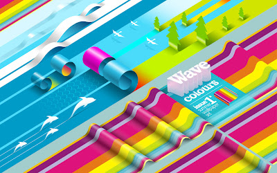 45 Stunningly Colorful Wallpapers &#8211; Color Up Your Screens!