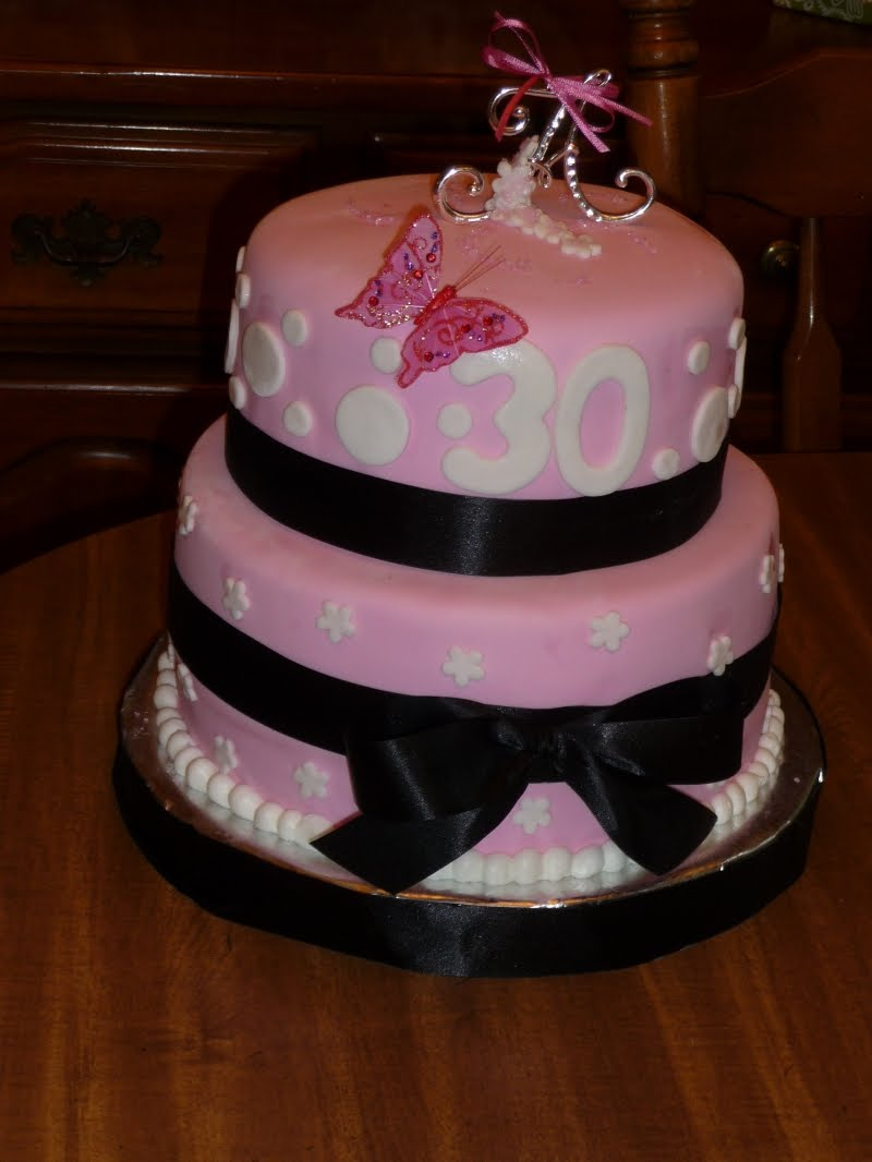 Cake Images For 30th Birthday : Icing On Top -- Cakes for Every Occasion: Pretty in Pink ...