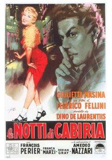 "Giulietta Massina, la tercera Diva del ciclo, en ""Las noches de Cabiria"""