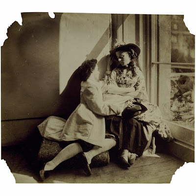 Clementina and Isabella Grace by Viscountess Clementina Hawarden © V&A