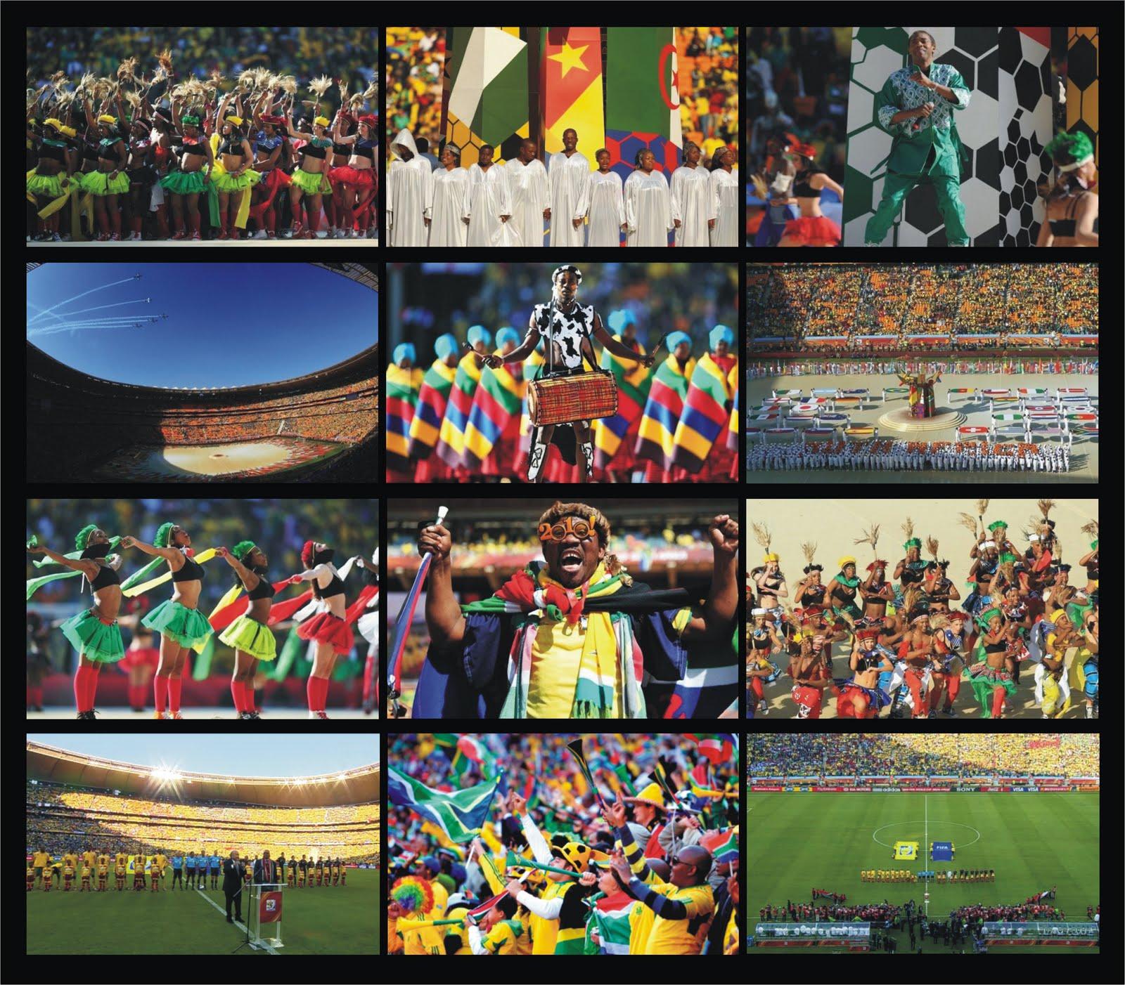 LA PELOTA NO DOBLA: Mundial Sudáfrica 2010: Ceremonia ...
