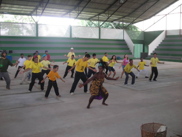 Dança Afro na UFRA - Terra Firme