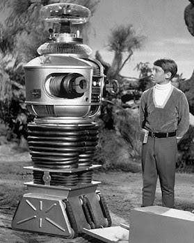 "Robot B9 from ""Lost in Space"""""