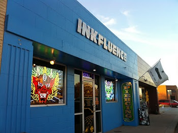 Inkfluence in Lubbock, Texas