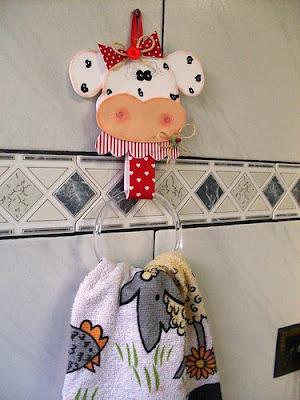 manualidades vacas y pollos para la cocina de mam blog