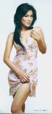 Foto Sandra Dewi terbuka