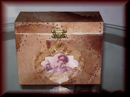 Caixa porta albinhos de fotos
