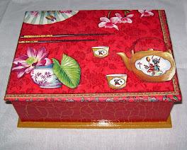 Caixa de chá japonesa