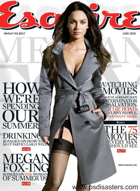 Megan Fox in Full-Frontal Shocker PSD