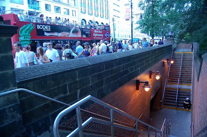 Entrada al Subway de la 59St