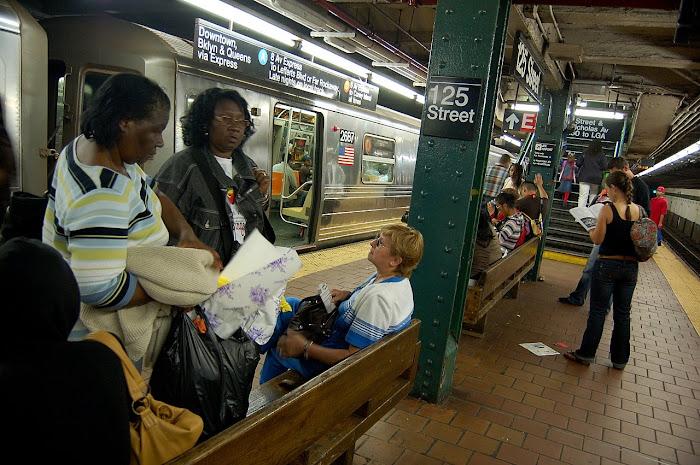 El Subway y como llegar al Harlem