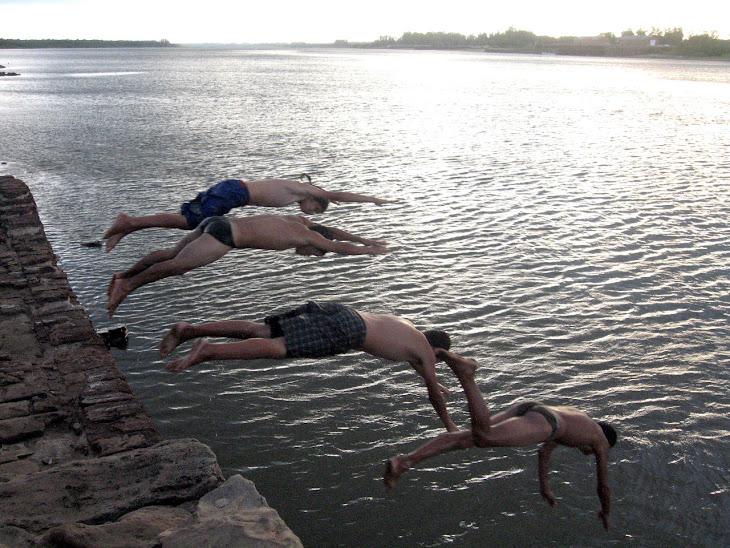 El Río Uruguay,  le los ¨gurices¨