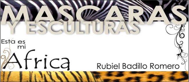 Mascaras y Esculturas.... esta es mi Africa..