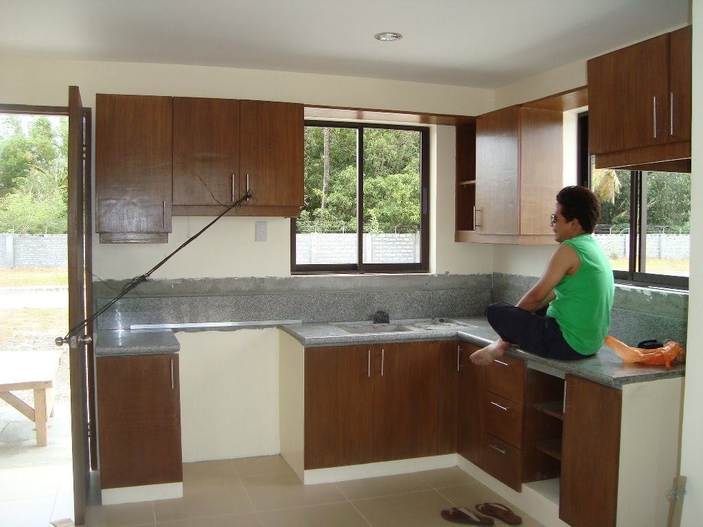 House model kitchen