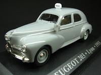 Miniatura Táxi: Peugeot 203