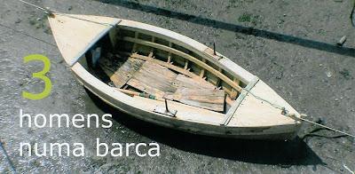 3 Homens numa Barca, no Centro Cultural de Cascais