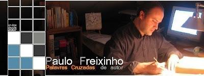 Palavras Cruzadas - Paulo Freixinho: 3.º Cabeçalho