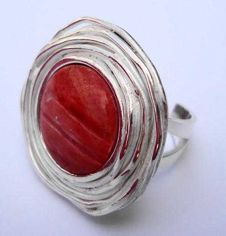 Sortija Rosa Red
