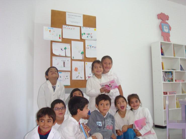Visita de la escuela Nº 6104