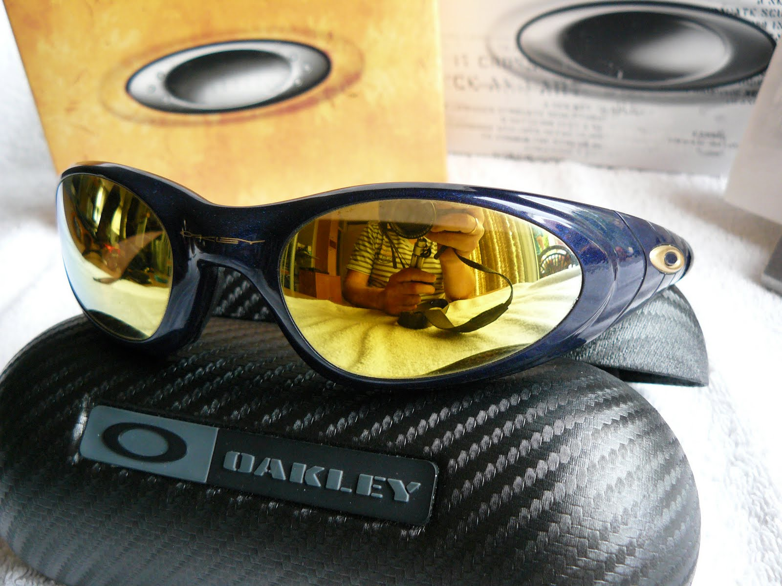 Oakley Straight Jacket White Chrome