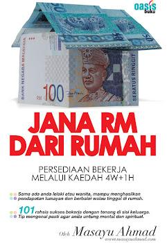 Buku-Jana RM Dari Rumah. Klik pada cover buku untuk tempahan & pembelian.