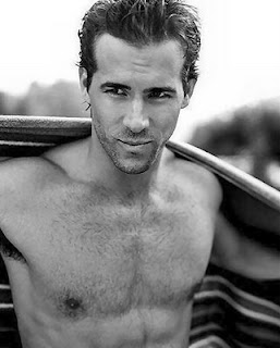 Shirtless Ryan Reynolds on Celeb Man Meat  100th Post  10 Men  100 Pictures